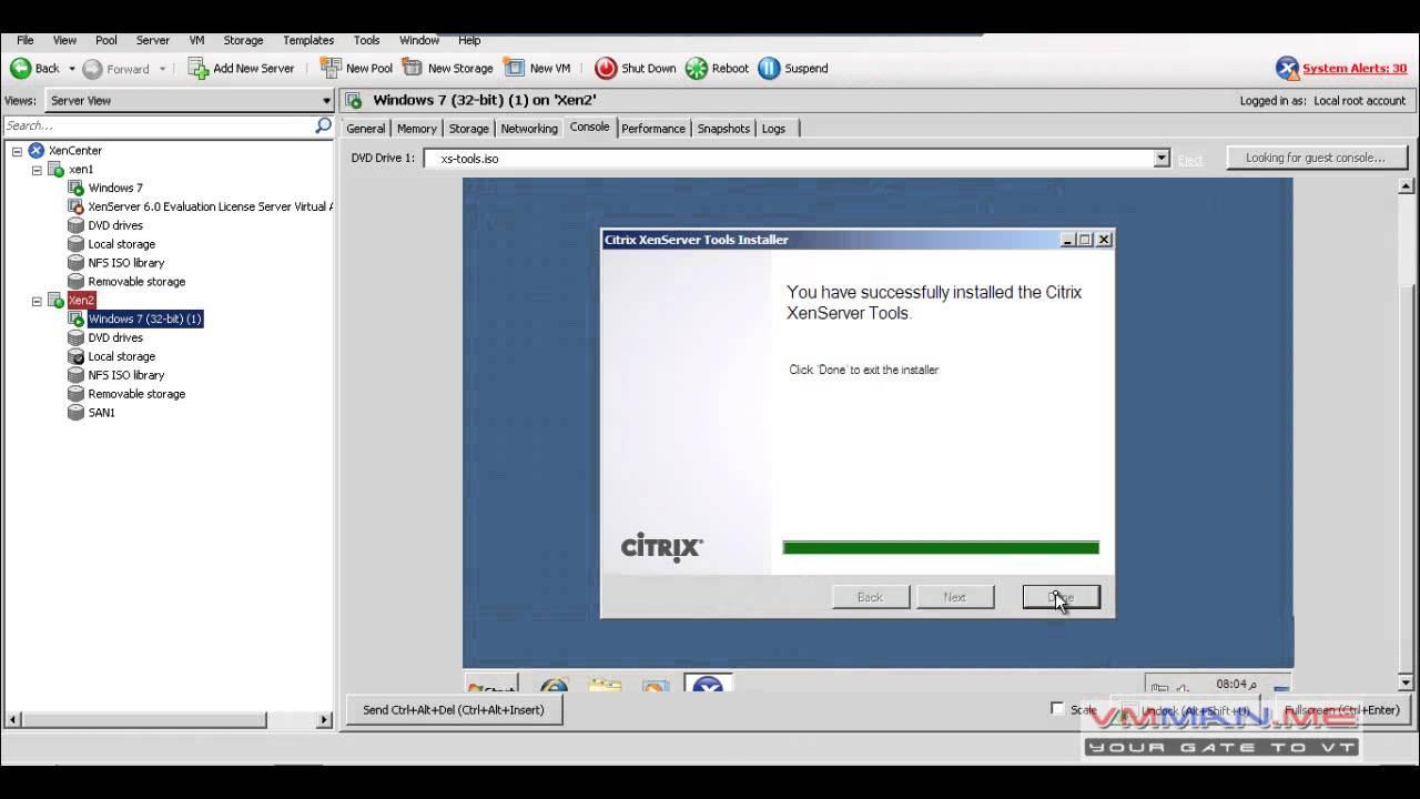 Citrix XenServer 6 1 Course – VM Man | VMware ,vsphere esxi
