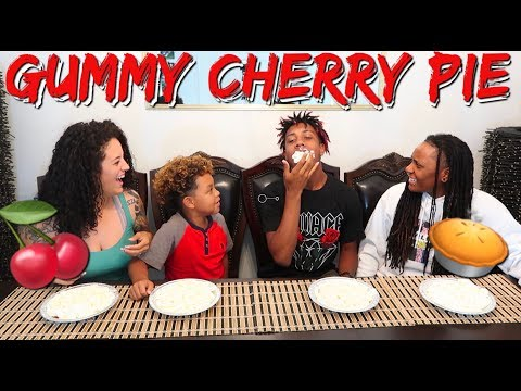 🍒Gummy Cherry Pie Challenge [IT GETS MESSY] HILARIOUS from YouTube · Duration:  18 minutes 38 seconds