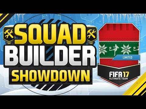 FIFA 17 SQUAD BUILDER SHOWDOWN!!! FUTMAS SPECIAL EDITION!!! Special Mystery Player Squad Duel