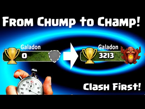 Clash of Clans World First? Zero Trophies to 3200 in a Day!