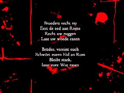 Heidevolk - Het Verbond met Rome (german subtitles) mp3