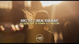 Don't let it break your heart [Lyrics/Sub español] - Louis Tomlinson
