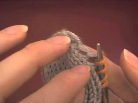 Picking up stitches in your knitting