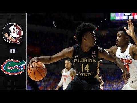 Florida State vs. Florida Basketball Highlights (2017-18)