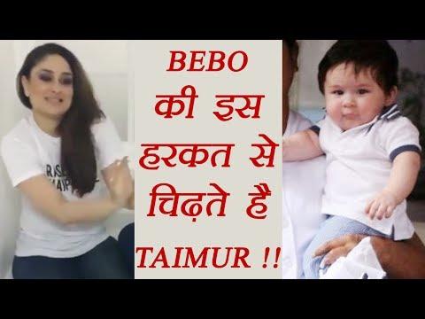 Kareena Kapoor Khan's this thing IRRITATES Taimur Ali; Watch Video   FilmiBeat Mp3