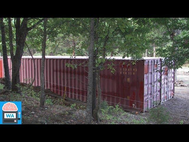 Dieser Mann baute aus zwei normalen Containern seine neue Bleibe!