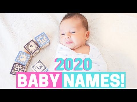 HEBREW BABY NAMES 2020!!! - Most Popular, Trendy, Unique JEWISH \u0026 BIBLICAL BABY NAMES!