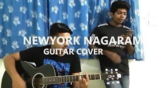 Newyork Nagaram Guitar Cover Sillunu Oru Kaadhal.mp3