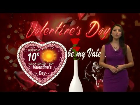 Valentineu0027s Day Weather Forecast In Boston With Ana Cristina   YouTube
