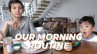 What Philip and I do in the Mornings!       Rica Peralejo-Bonifacio