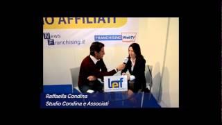 Salone Franchising Milano: Intervista alla Dott.ssa Raffaella Còndina