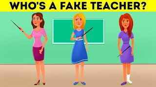 Find The Liar At School! Fun Riddles That Every Adult Fails!