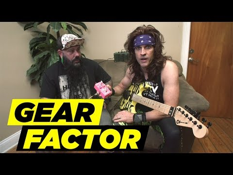 Steel Panther's Satchel Tests Out 'Pussy Melter' Pedal