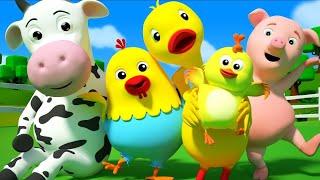 Kindergarten Nursery Rhymes | Songs for  Babies| Farm Animal Song | Kids Cartoon