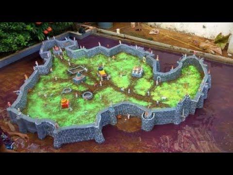 Sindhudurg Fort made of mud l सिंधुदुर्ग किल्ला l Diwali project l How to make fort in diwali