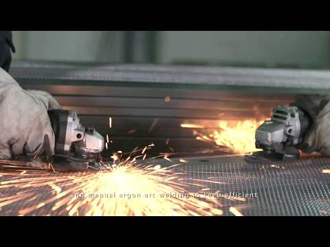 Beijing finen network cabinet factory video.