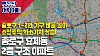 [부동산 여기어때] 종로구 효제동 2룸 구조 아파트_김…