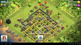 Clash Of Clans - Présentation des villages de mon clans