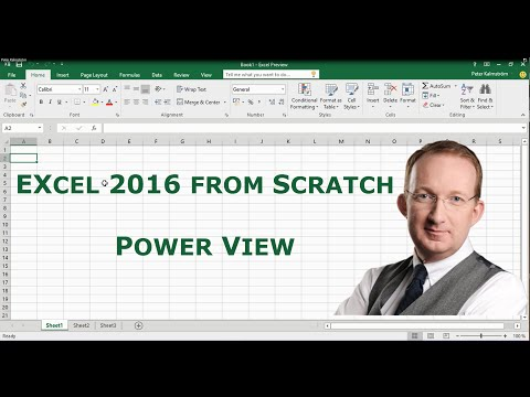 Excel 2016 from Scratch  - Power View