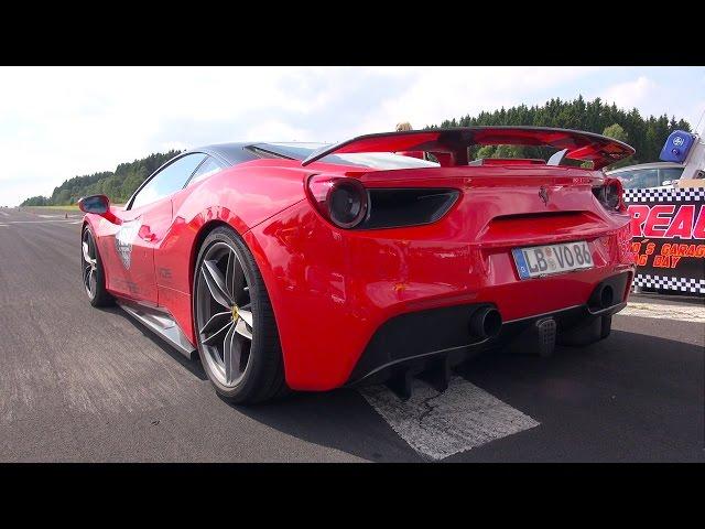 900bhp Ferrari 488 GTB Takes On A Lamborghini Huracan