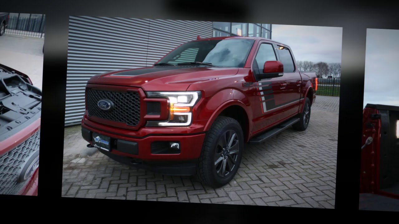 2018 Ford F150 Special Edition Ruby Red Bosv8supercars Youtube