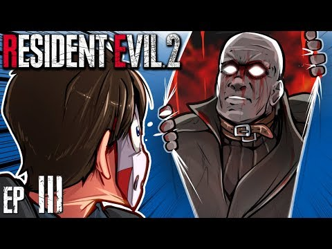 Resident Evil 2 - CHASED AROUND THE MAP & PLAYED AS ADA WONG! Ep. 3