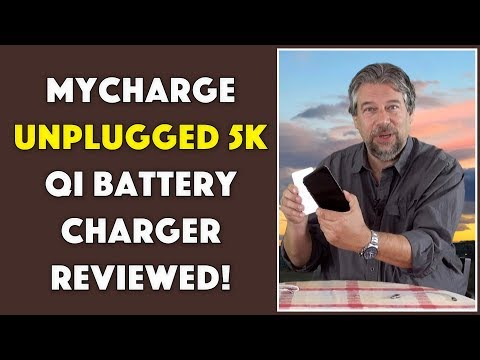 The Great MyCharge UnPlugged 5K Qi Battery - REVIEWED