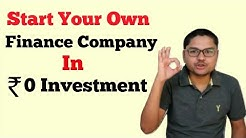 How To Start Finance Company