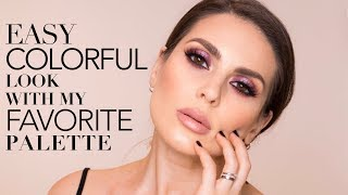 EASY COLORFUL LOOK WITH MY FAVORITE PALETTE ALI ANDREEA