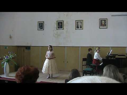 W.A. Mozart  Das Veilchen, Dreyzin Berezka (Birch) Alina Darbinyan Sings