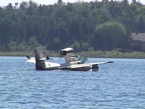 Amphibious plane, St. James Harbor, Beaver Island,...