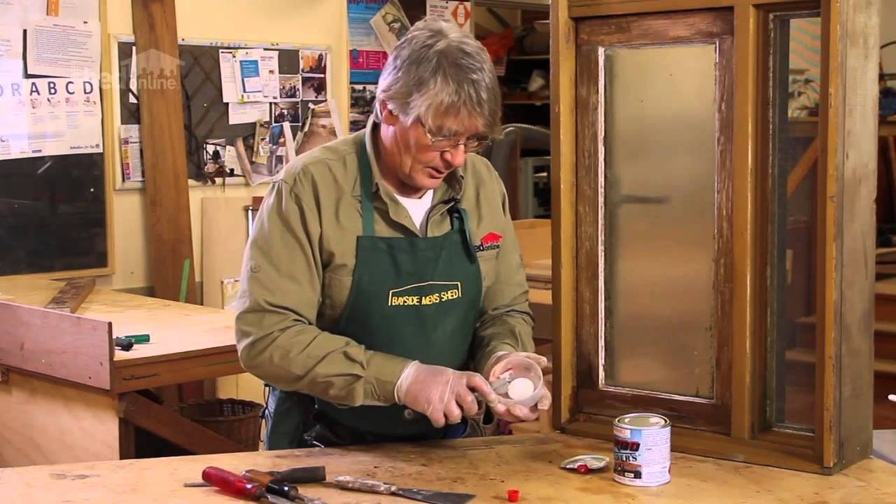 The Shed Online - Handyman DIY - How to Repair Rotted Wood ...