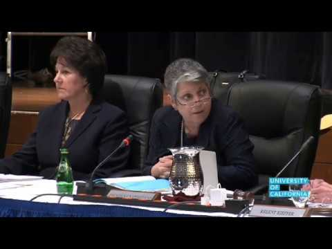 U of California Regents Require Apology of UC Prez