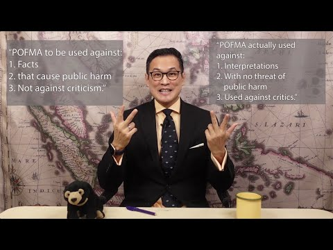 The Show with PJ Thum -  Ep. 9 - How the use of POFMA against Ep. 8 proves I was right about POFMA