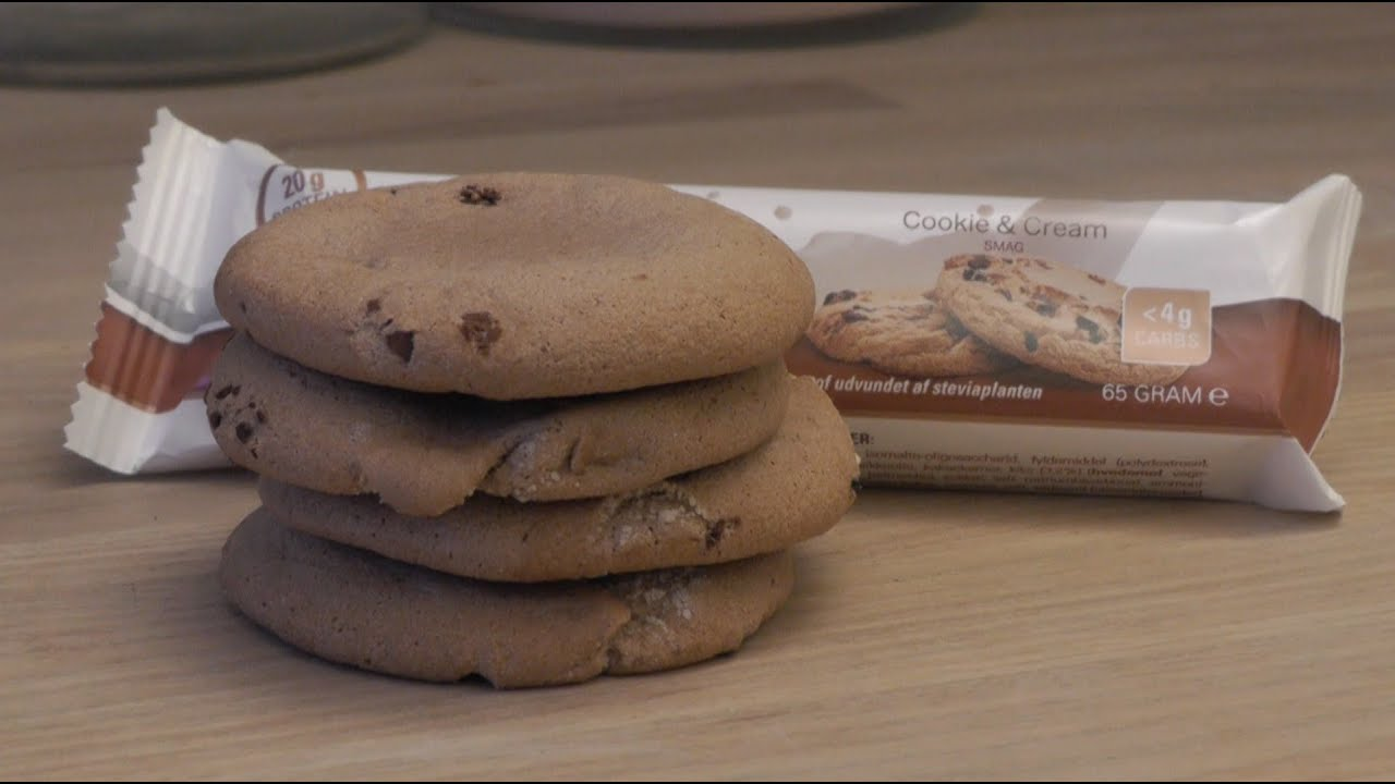 Velsete How to make low carb protein cookies - YouTube SB-21