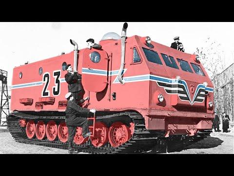"""""""Kharkovchanka"""" - The Colossal Soviet Antarctic Cruisers"""