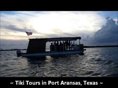 Tiki Tours in Port Aransas, Texas.