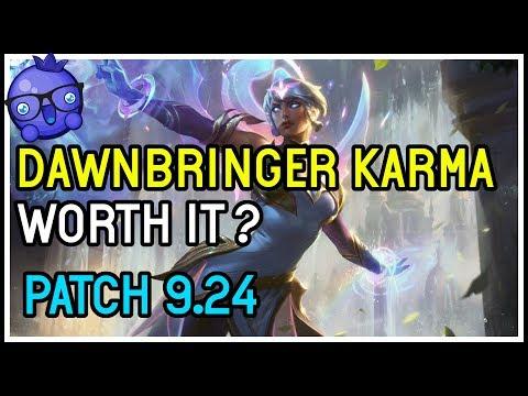 New Karma skin dawnbringer Karma