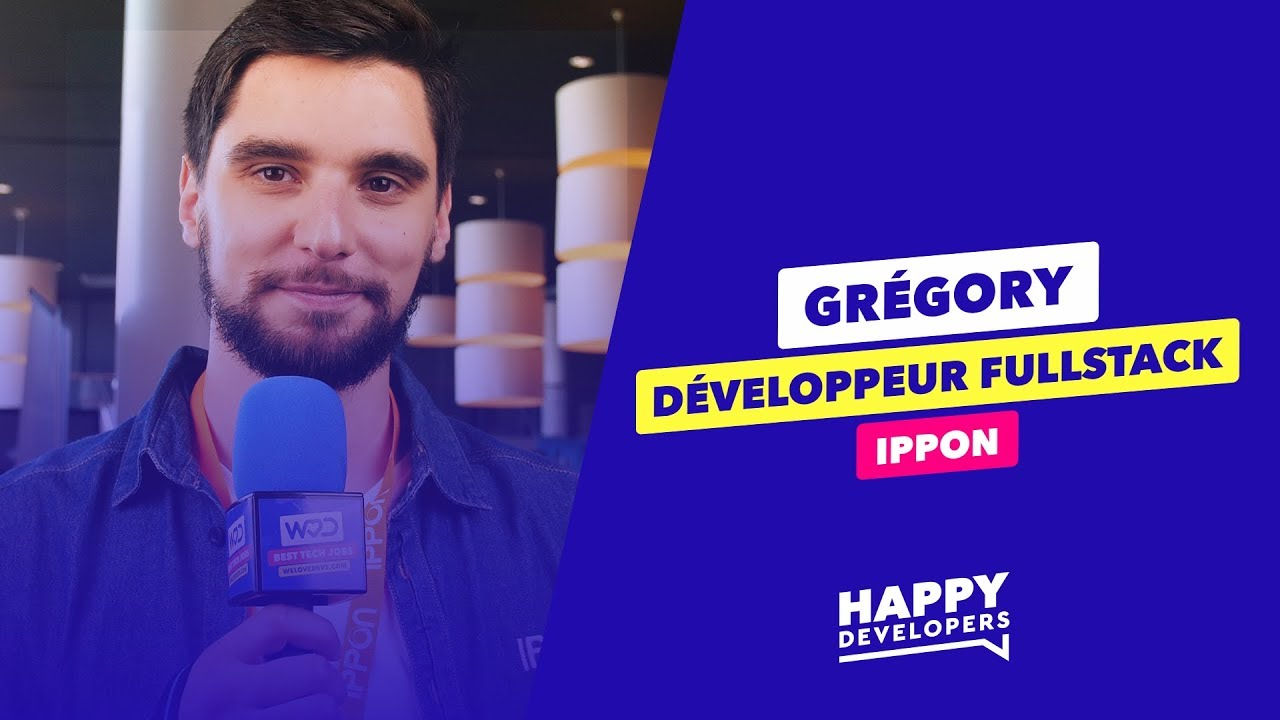 Happy Developers - DevFest Lille - Grégory de Ippon