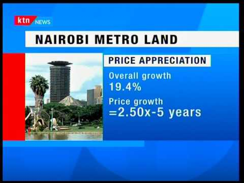 Land prices in Nairobi on the rise