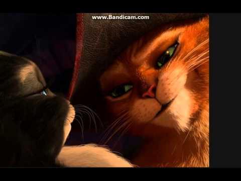 Мультик кот в сапогах и киса мягколапка