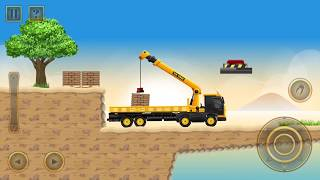 Construction City 2 - Truck, Crane - The Docks Walkthrough Part 2 | Android Gameplay | Droidnation