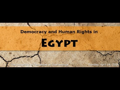 Democracy and Human Rights in Egypt - Part 1