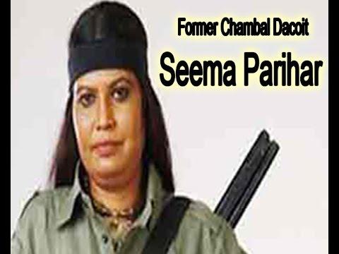 Seema Parihar former chambal dacoit for Save Beehad