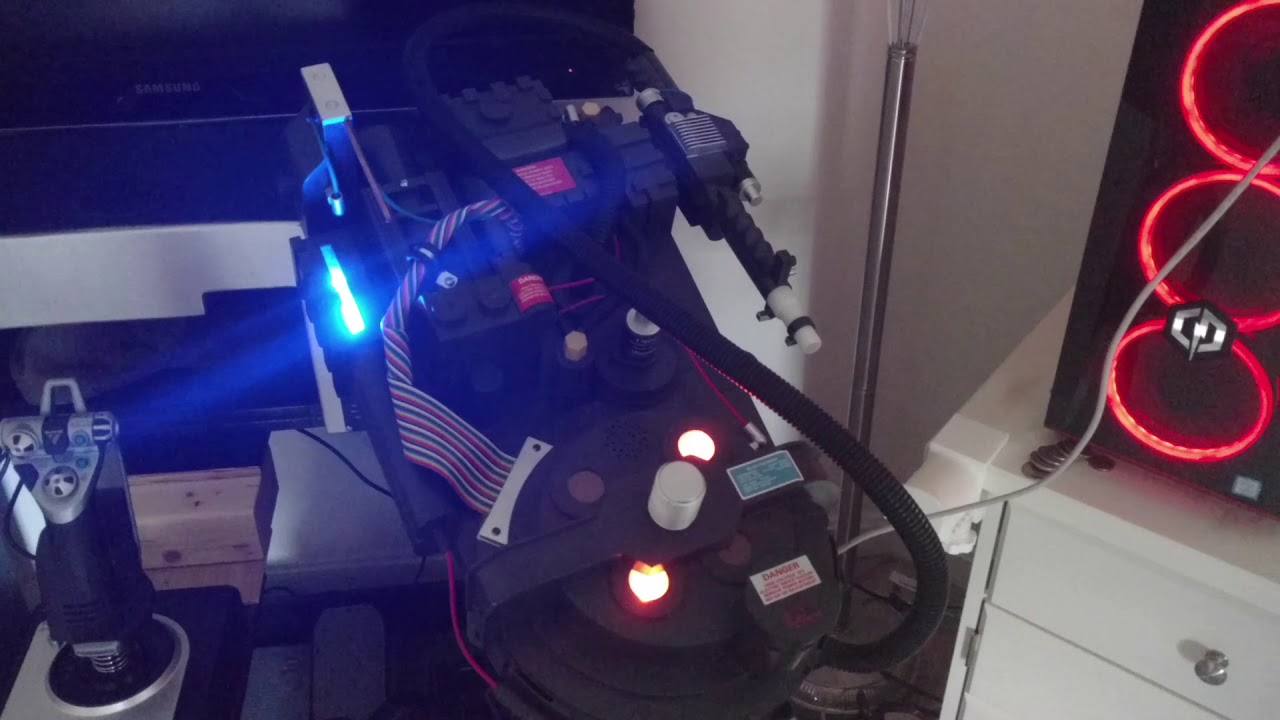 Ghostbusters Proton Pack Deluxe Replica Spirit Halloween Lights /& Sounds GLOBAL