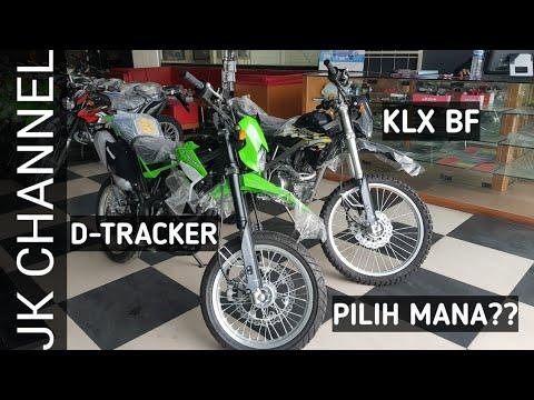 KAWASAKI D-TRACKER VS KLX BF | PILIH SUPERMOTO apa ADVENTURE ??| Rev fisik + harga.