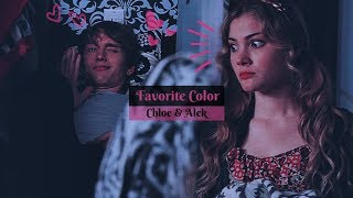 Chloe & Alek ❣ Favorite Color (Dedicated to  Alternative Universe Studio)