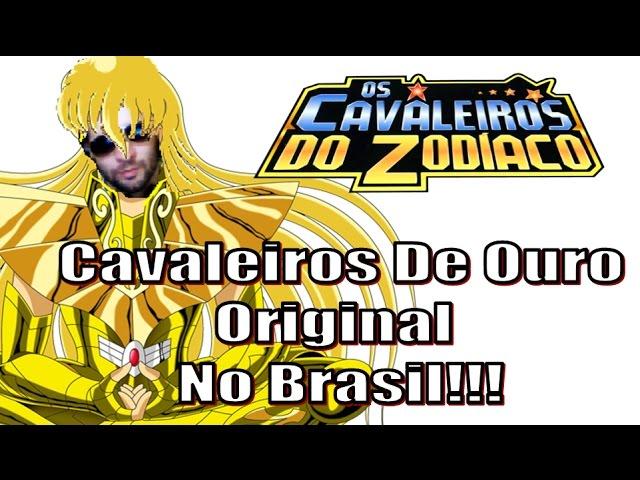 As 12 Armaduras De Ouro Originais Dos Cavaleiros Do Zodíaco NO BRASIL! Na CCXP 2016