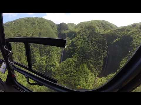 AIr Maui Helicopter Tour West Maui  Molokai 2014