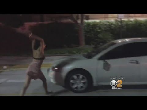 2 Female Uber Riders Caught On Camera Going Berserk In Hollywood